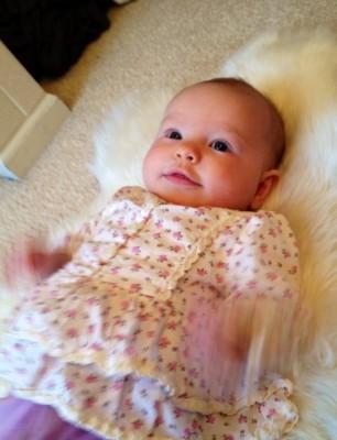 sophie four months